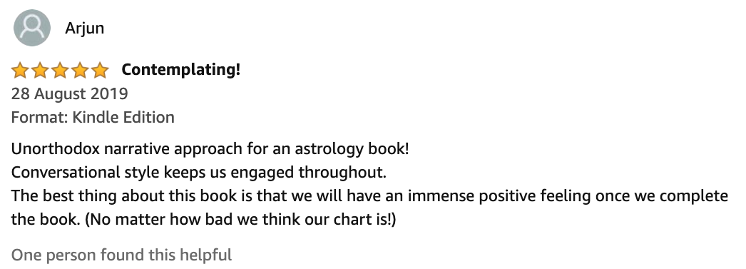 Book: Achieving Success Through Astrological Guidance Amazon Review